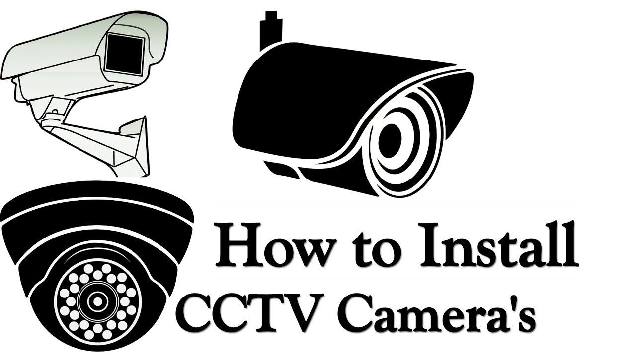 cctv camera installation step by step procedure with dvr