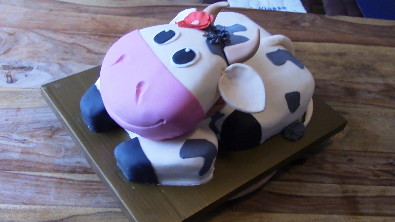 3d Kuchen: 3D Kuh-Torte