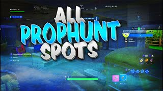 All Prop Hunt Hiding Spot Glitches In Fortnite! Top Fortnite Prop Hunt Glitches & Spots In Fortnite
