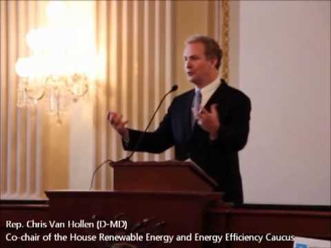 Rep. Chris Van Hollen at the 2012 Congressional Renewable Energy and Energy Efficiency EXPO