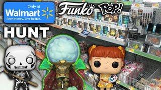 EPIC Walmart Exclusive Funko Pop Hunt! (MYSTERIO FOUND)