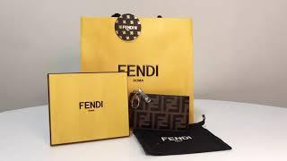 펜디 카드 지갑 언박싱 FENDI 명품 하울 소비일상