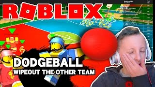 Getting MVP in Roblox Dodge Ball | Serious Game Face | Roblox Mini Game