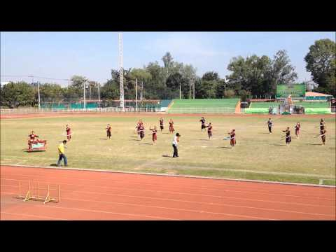 การแข่งขันฮูลาฮูปลีลา ธกส. ศรีสะเกษ 20-12-2557
