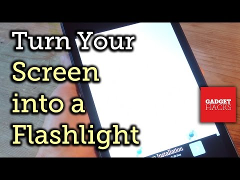 Use Your Android As A Flashlight, Even If It Doesn't Have One [How-To]