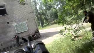 Террористы мнимой ДНР проходят обучение в Макеевке по захвату здания