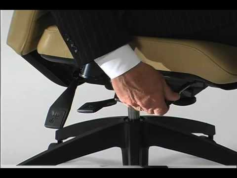 ergonomic chair angle bridal shower office seat adjustment youtube