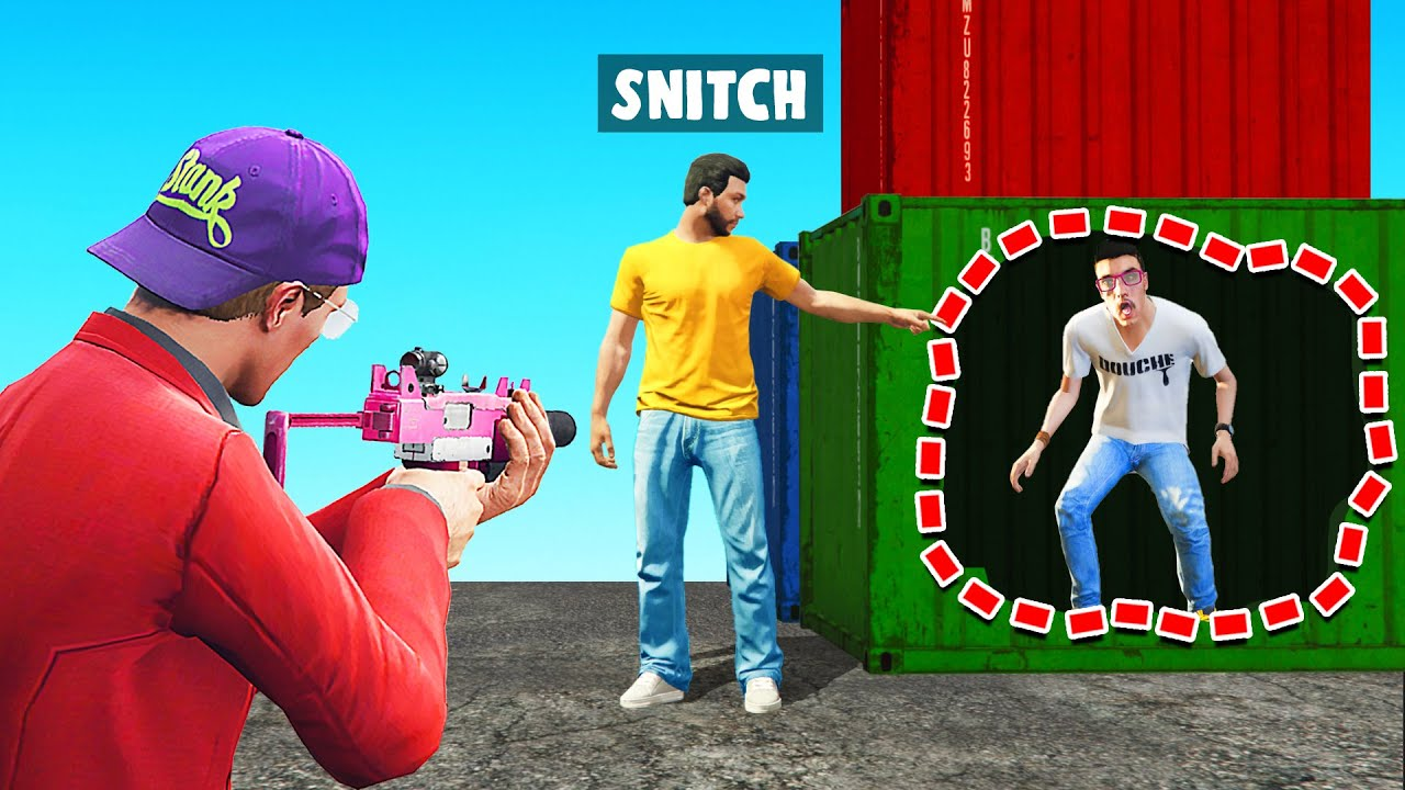 The MOST IMPRESSIVE SNITCH Yet! (GTA 5 Online) thumbnail