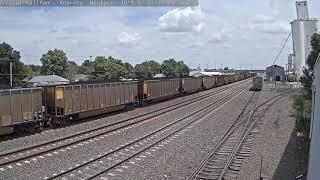 Almost 3 Miles Long, a UP Coal Train! Kearney, NE