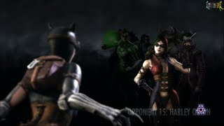 Injustice Gods Among Us Full House Battle Ladder - Against the Entire Cast of Injustice 0 losses