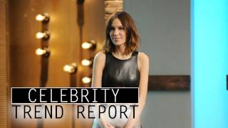 Alexa Chung Dishes What's Hot in Fashion & Music - CELEBRITY TREND REPORT