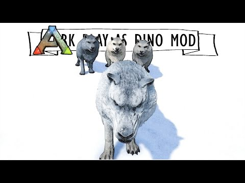 PLAYING AS A DIREWOLF :: Ep. 2 :: Ark Play as Dino Mod :: Forming A Pack of Wolves :: UniteTheClans