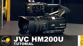 AppTV: JVC HM200U Camera Tutorial