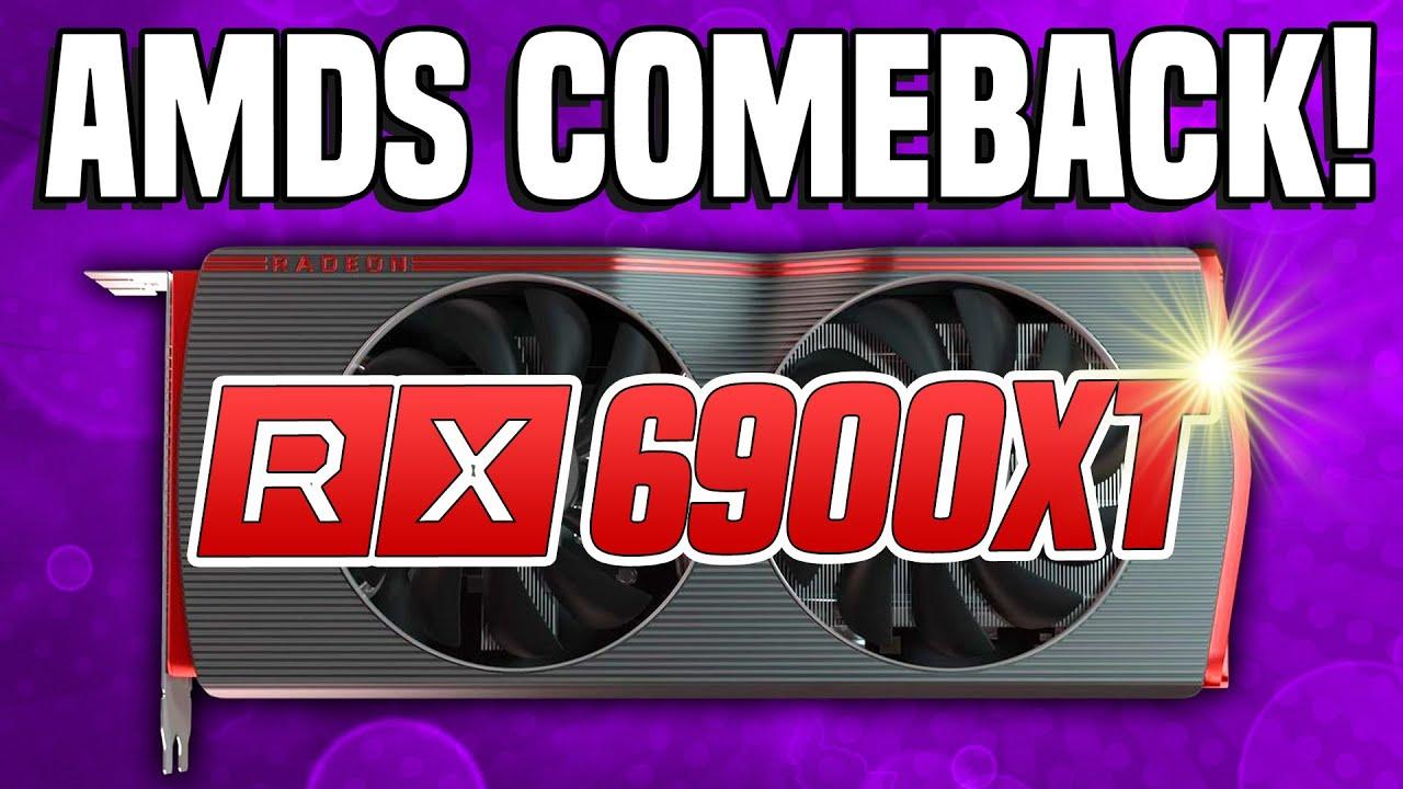 Amd S Rx 6900 Xt Navi 2x Specs Confirmed Release Date Performance Radeon Rx News Leaks Youtube