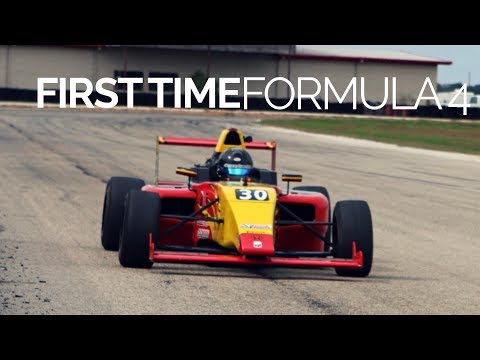 Driving Formula 4 For The First Time