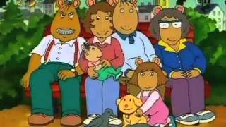 Arthur theme song performed by Ziggy Marley