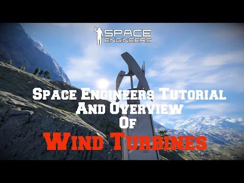 space engineers underground wind turbine