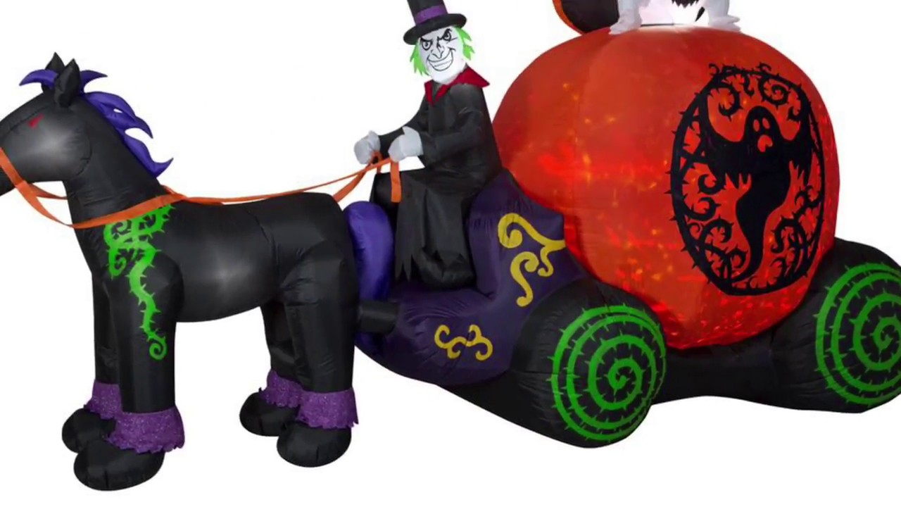 2018 Halloween Inflatables At Home Depot