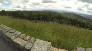 Skyline Drive by Motorcycle, Northern Section, Part 2
