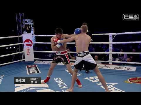(Romania) Vlad Morariu  VS  Maxim Rusu  (Moldova)