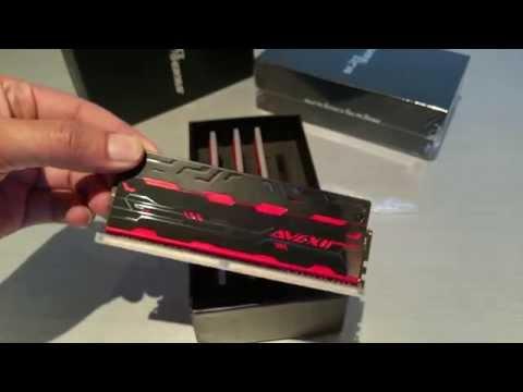 Avexir Blitz 1.1 DDR4 Unboxing
