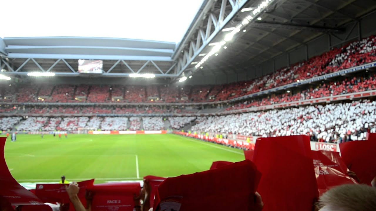 Lille nancy hd inauguration grand stade lille for Stand lille