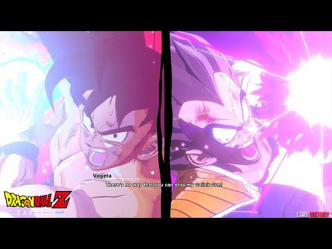 Dragon Ball Z: Kakarot - Clash! Goku VS Vegeta Boss Fight Gameplay