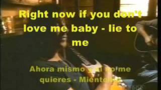 bon jovi-lie to me-karaoke+lyrics subtitulada