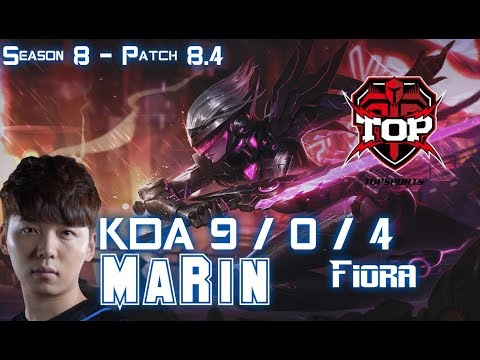 TOP MaRin FIORA vs JAX Top - Patch 8.4 KR Ranked