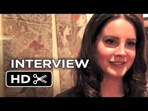 Big Eyes Interview - Lana Del Rey (2014) - Tim Burton Movie HD