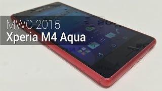 MWC 2015: Xperia M4 Aqua | Tudocelular.com