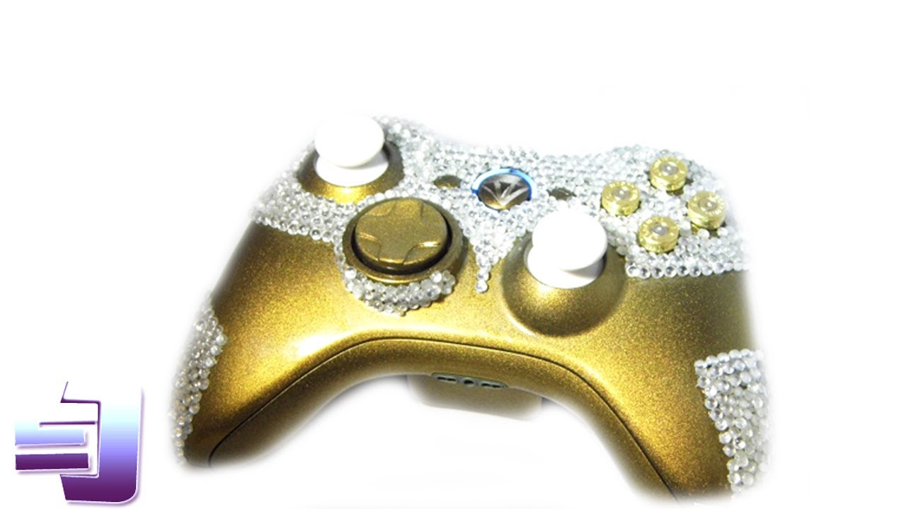 Xbox 360 Controller Diamond Worlds first diamond camo