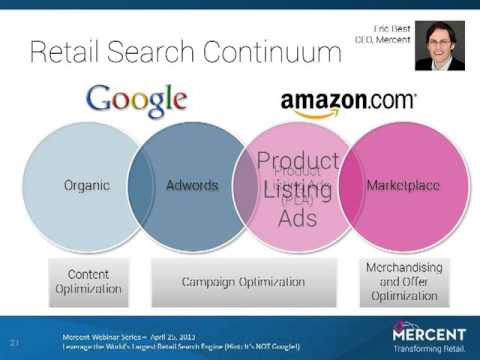 Amazon Mercent Webinar Leverage the World's Largest Retail Search Engine