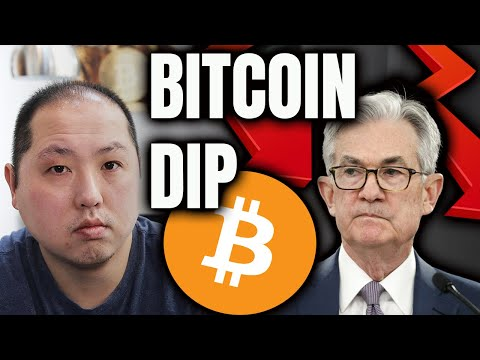 WHY DID BITCOIN DIP TODAY??!!