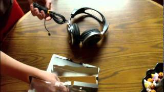 Sony stereo headphones MDR-XD200 unboxing/review