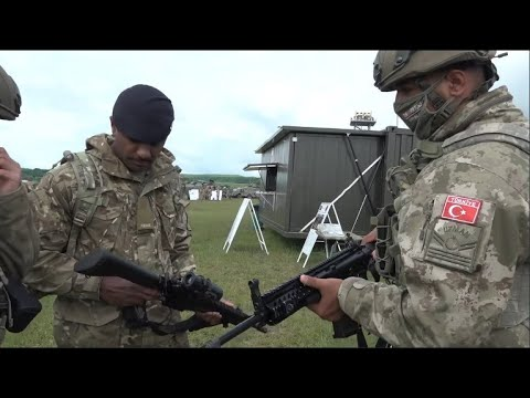 Footage Video of Turkish Army at Steadfast Defender 2021 exercise