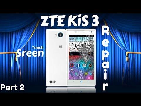 #103 📱 Repair ZTE Kis 3 cellphone touchscreen Part2