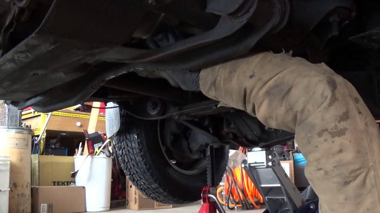 changing the transmission fluid in a 1988 ford ranger with transmission problems [ 1280 x 720 Pixel ]