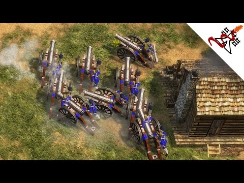 Age of Empires 3 - 5P GO TO HELL | Free For All Multiplayer