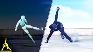 Ice Skating Tutorial: Stops