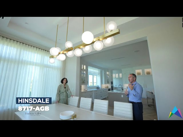 Hudson Valley Lighting Group (HVLG) Project Tour w Nikki Levy Interiors