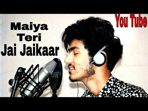 MAIYA TERI JAI JAIKAAR Video |Asad Khan | Navratri Special Unplugged Song 2018.|