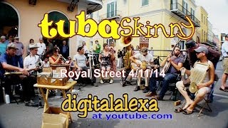 "Tuba Skinny -""Travelin Blues"" - Royal St 4/11/14 - MORE at DIGITALALEXA   channel"