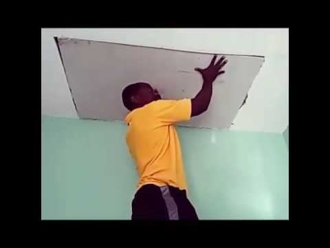 How To Repair A Hole In My Popcorn Ceiling
