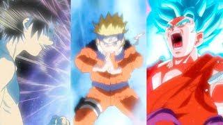 energías del anime: chakra, cosmos y ki