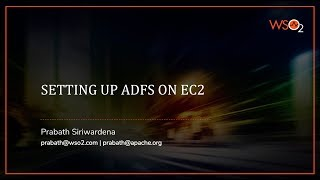 Setting Up ADFS on EC2