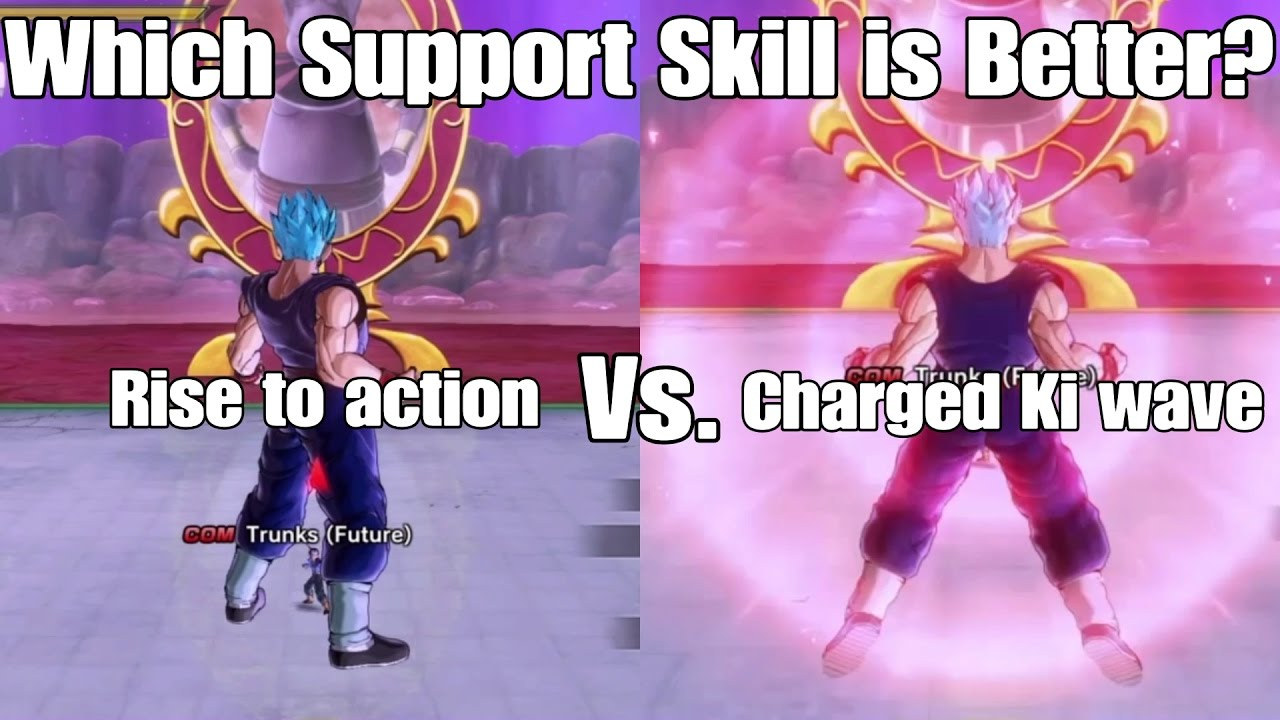 Dragon ball Xenoverse 2 Skill Test! Rise to Action Vs