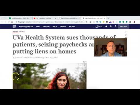 UVA Hospital System: Infuriating! (My Story)