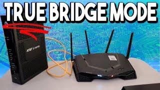 TRUE Bridge Mode? Your ISP keeps this a secret. (Gateway Router Setup)