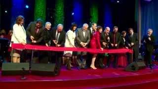 Открытие нового здания церкви